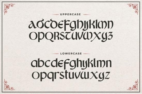King Castle font download
