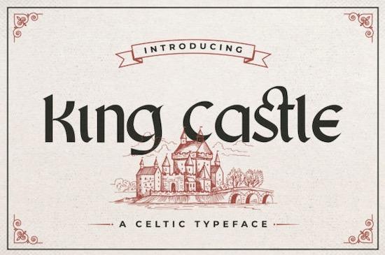 King Castle font free download