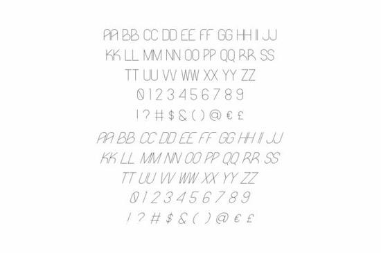 Likeguard font family free