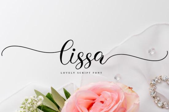 Lissa font free download