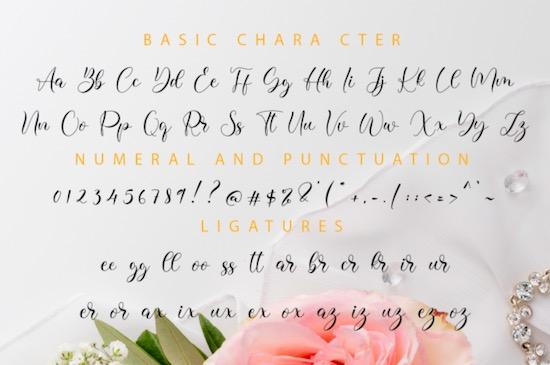 Lissa font