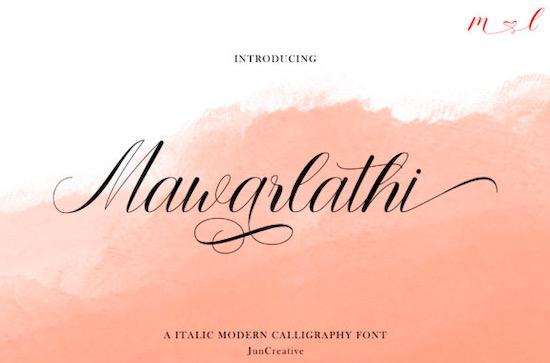 Mawarlathi font free download