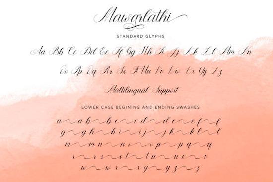 Mawarlathi font free