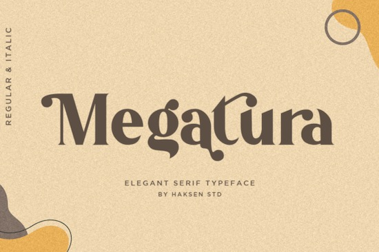 Megatura font free download