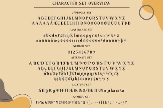 Megatura font free