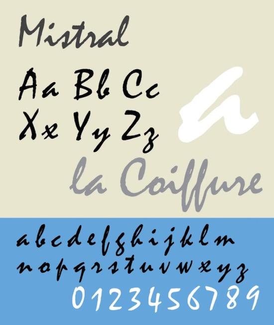 Mistral font download