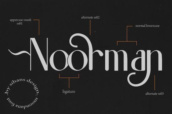 Moondana font download