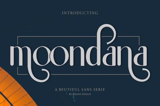 Moondana font free download