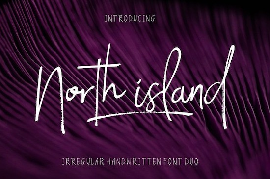 North Island font free download