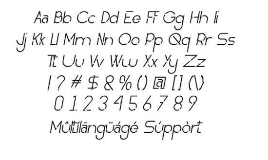 Obedient font download