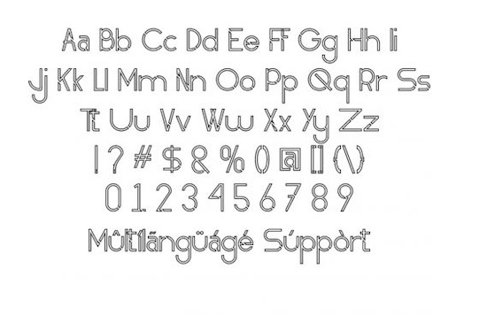 Obedient font free download