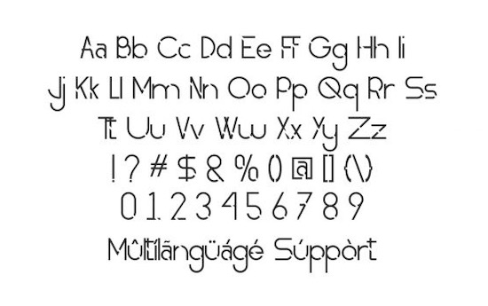 Obedient font free