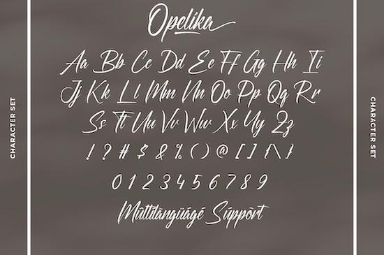 Opelika font free