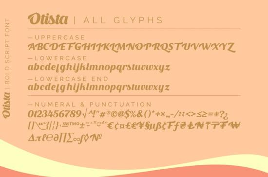Otista font free