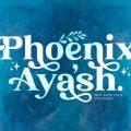 Phoenix Ayash font free download