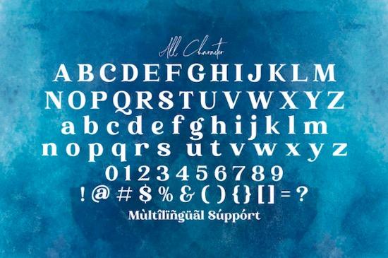 Phoenix Ayash font free
