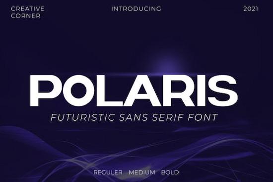 Polaris font free download