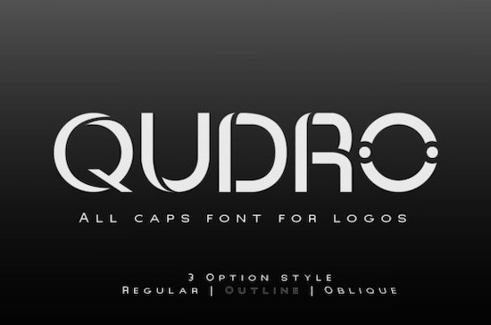 Qudro font free download