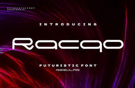 Racqo font free download