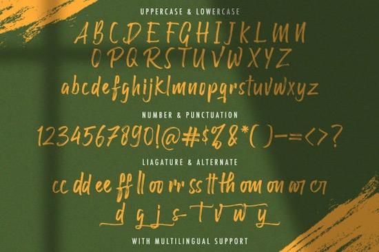 Raffles Bryant font