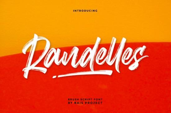 Randelles font free download