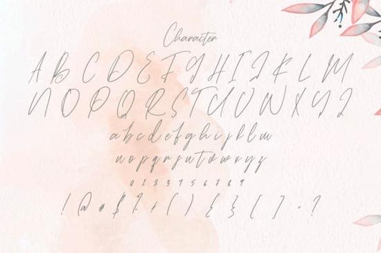 Rattih Putri font free