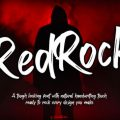 Red Rock font free download