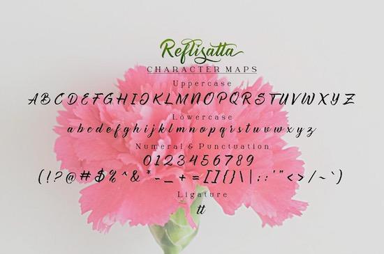 Reflisatta font download