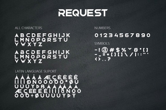 Request font download