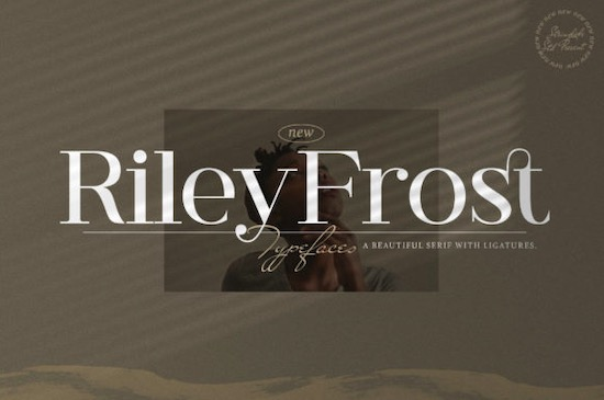 Riley Frost font free download