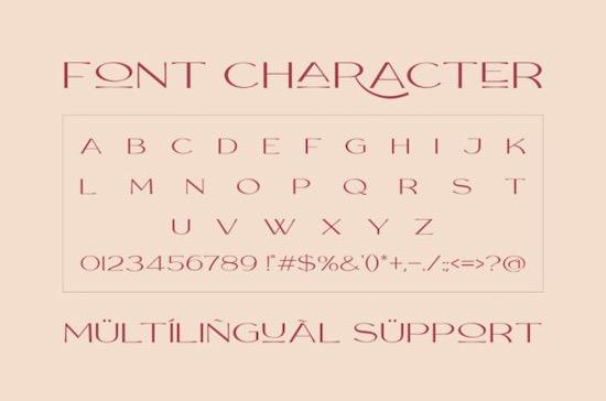 Rollgates Victoria font free