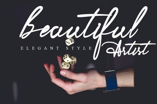 Romantica font free