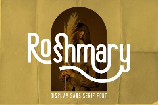 Roshmary font free download