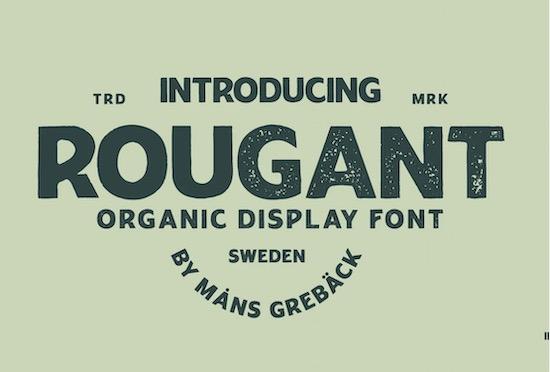 Rougant font free download