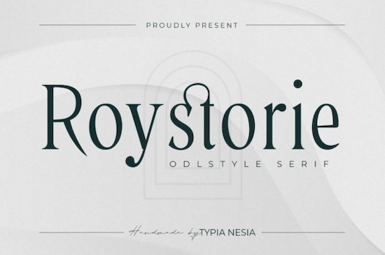 Roystorie font free download