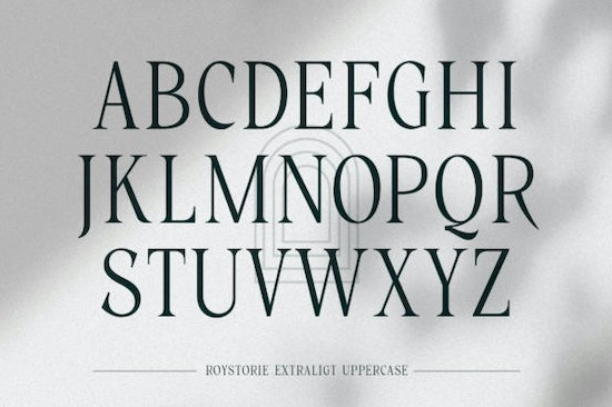 Roystorie font free