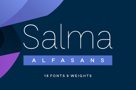 Salma font family free download