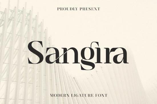 Sangira font free download
