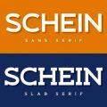 Schein font free download