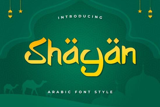 Shabyan font free download