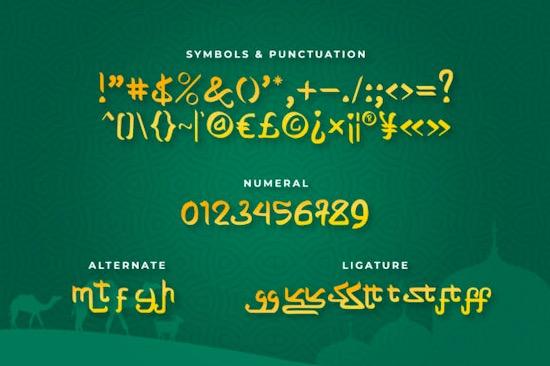 Shabyan font free