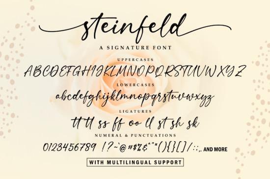 Steinfeld font free