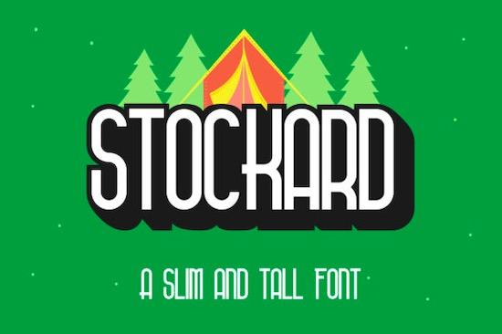 Stockard font free download