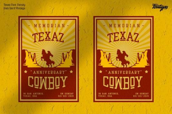 Texaz font free
