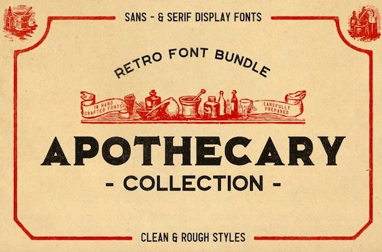 The Apothecary Collection font free download