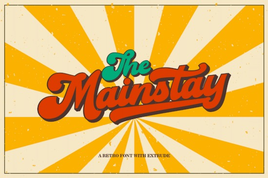 The Mainstay font download