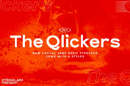The Qlickers font free download
