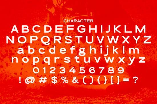 The Qlickers font
