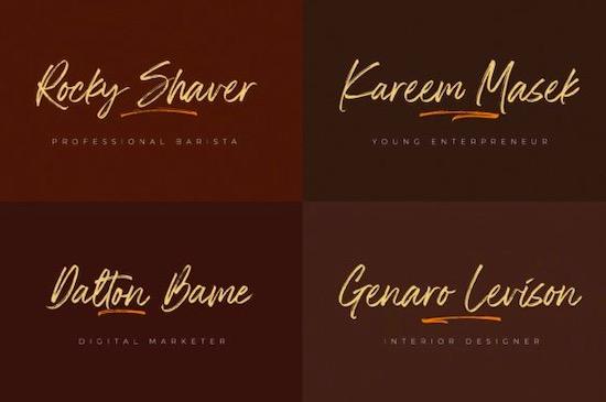 The Rolleta font download