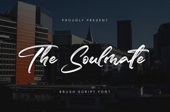The Soulmate font free download